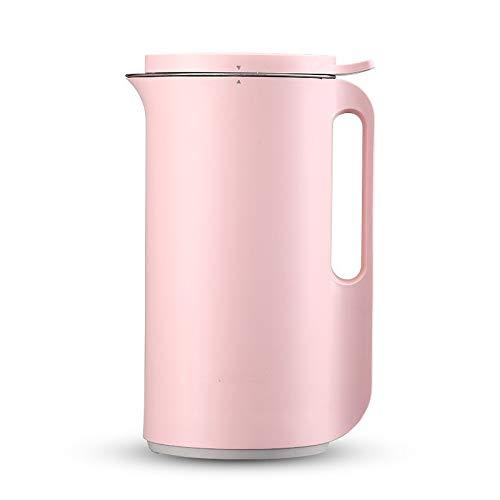 Grote multifunctionele soymilk sapcentrifuge, 220 V, automatische elektrische verwarming, sojammelk, roeren, rijstmaker, pasta, filter vrij roze