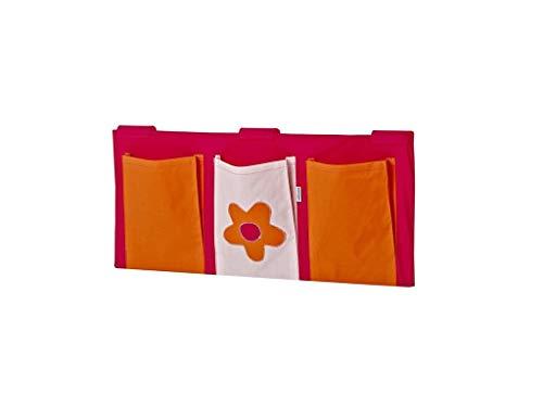 HOPPEKIDS Flower Power Betttasche für Kinderbett 36-4336-PI-000