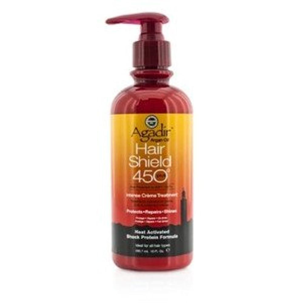 自発アフリカ人アメリカアガディール(Agadir) ヘア シールド 450 プラス インテンス クリーム トリートメント(For All Hair Types) 295.7ml/10oz [並行輸入品]