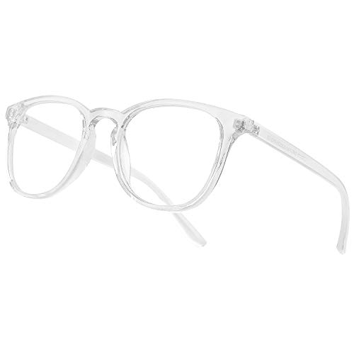 Vimbloom Blaulichtfilter Brille Computerbrille PC Gaming Bluelight Filter Uv Blue Light Blocking Glasses Anti Damen Herren Ohne Stärke Entspiegelt VI387