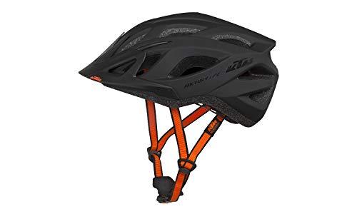 KTM, casco da bicicletta unisex nero opaco/nero lucido Factory Line (58-62)