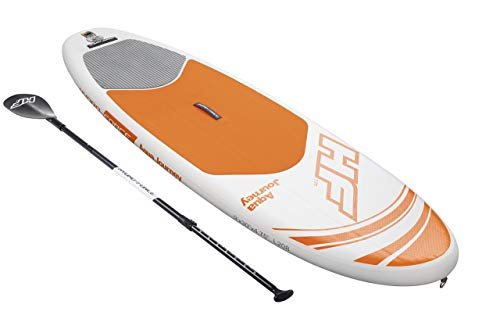"""Bestway Hydro-Force 9' x 30"""" x 4.75"""" Aqua Journey Inflatable Stand Up Paddle Board (Renewed)"""