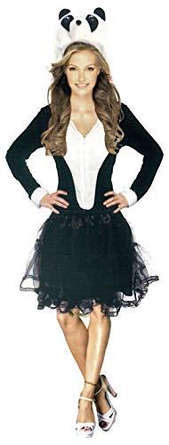 Brandsseller Panda, costume da donna per adulti, per carnevale