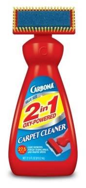 CARBONA 00229-6 22 OZ.? 2 in 1 OXY-POWERED CARPET & UPHOLSTERY CLEANER 6 Pack Value Pack! Save$$