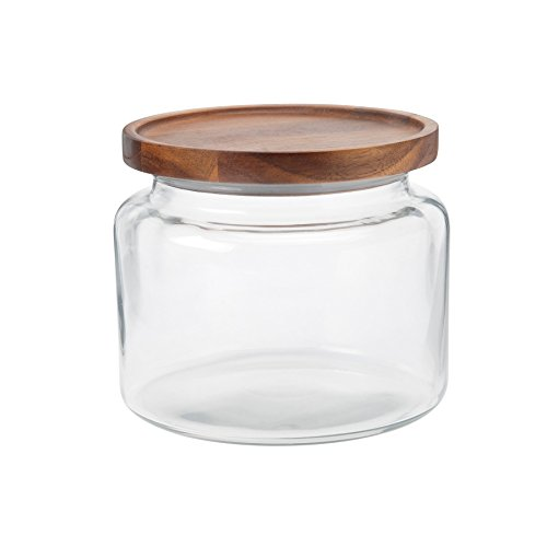 Anchor Hocking Montana Jar w/ Acacia Lid, 64oz