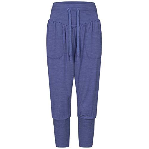 super.natural Pantalones de Yoga para Mujer con Lana Merino W Harem Pant, Mujer,...