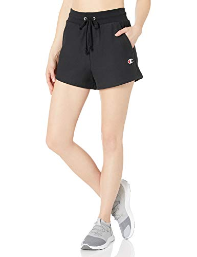 Champion LIFE Women's Reverse Weave Short, Black, XX-Large