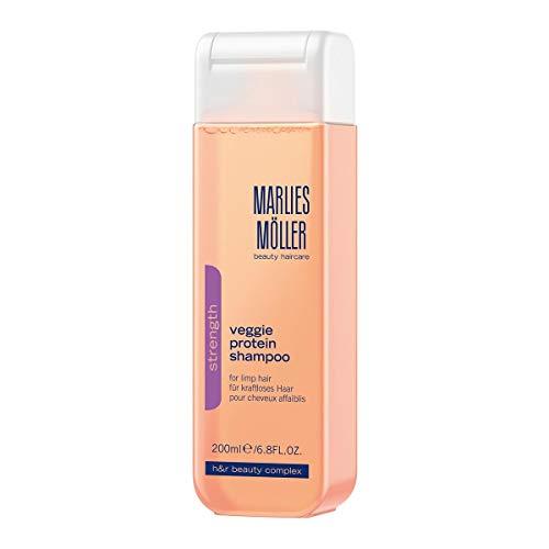MARLIES MÖLLER Strength Veggie Protein Shampoo, 1er Pack (1 x 200 ml)