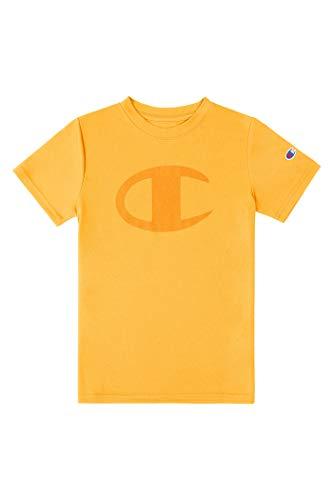 Champion Camiseta de manga corta para niños Performance Tech Athletic - amarillo...