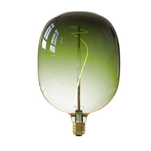 CALEX Colors Elegance Avesta - Bombilla LED (140 mm de diámetro, regulable, casquillo E27, 5 W, 1800 K, 140 lm, clase energética B, tamaño grande)