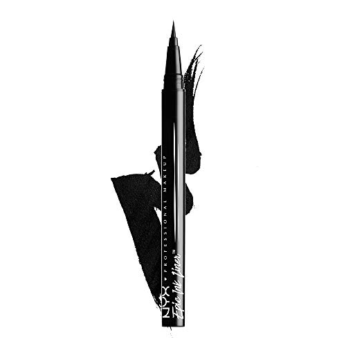 NYX Professional Makeup Epic Ink Eye Liner, Filzstift, Wasserfest, Vegane Formel, Shade 01