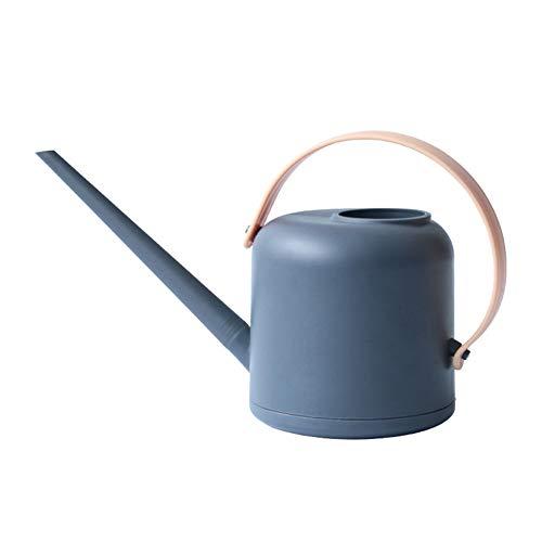 SPDYCESS Regadera plástica 1,7 litros Regadera de Interior con Cuello Largo Boca Larga - Pequeña Regadera para Casa Plantar Bonsai Plantas del Cuarto de Interior