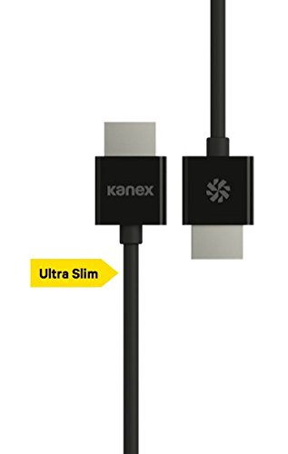 Kanex HDCABLE2M High Speed HDMI-kabel (2 m) Premium high-speed 2 meter -> zwart 2 Meters