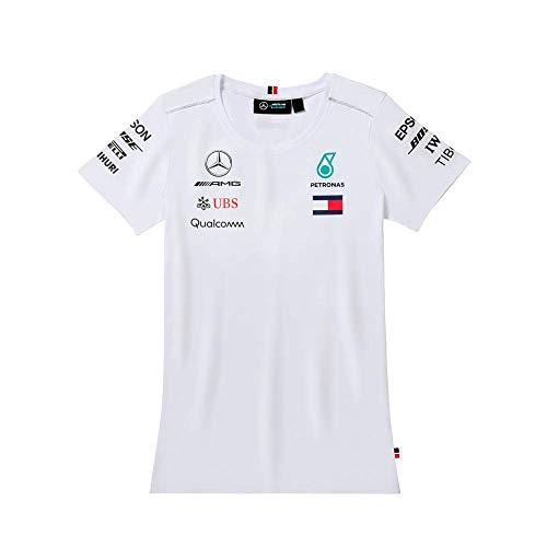 Mercedes AMG Kinder T-Shirt MGP F1 Kids Tee wit, 104 (3-4 jaar)
