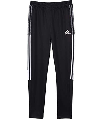 adidas girls Tiro Track Pants GCU Black/White Medium