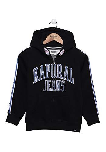 Kaporal - Sweat zippé à Capuche - Bang - Garçon - 14A - Noir