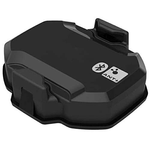 Linoni Compteur de vitesse Bluetooth ANT+ Vitesse et cadence à double capteur de vitesse et cadence pour Garmin/Wahoo/Zwift/Tacx/Bryton