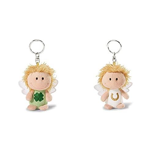 """NICI Bring dir Glück"""", Glücksbringer Schutzengel Engel Schlüsselanhänger für Schlüsselband, 7 cm & Schlüsselbund & Schlüsselk pass auf dich auf"""", Glücksbringer Schutzengel Engel Schlüsselanhänger 7cm"""