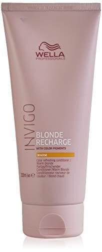 Wella, Invigo Blonde Recharge Warm Blonde Conditioner 200Ml