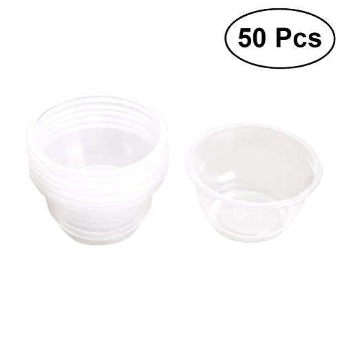 4 X  oval Clear Plastic Bowls 28 Cm x 18cm for serving shering Snacks Etc