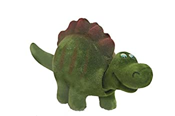 Batty Bargains Terrifying Bobblehead Stegosaurs Dinosaur with Car Dashboard Adhesive