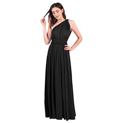 IBTOM CASTLE Womens Dance Praise Loose Fit Full Length Liturgical Dress Dancewear Costume Black Size 8/M
