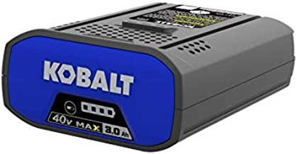 Kobalt 40-Volt 3.0AH Amp Hours Rechargeable Lithium Ion (Li-ion) Cordless Power Equipment Battery 3AH
