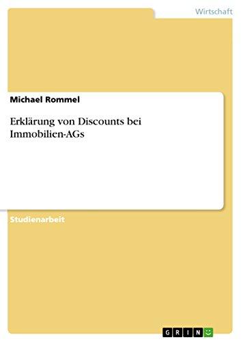 Erklärung von Discounts bei Immobilien-AGs