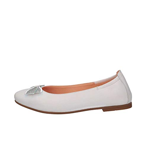 Unisa DORAL NT White Ballet Pumps Kind weiß 35