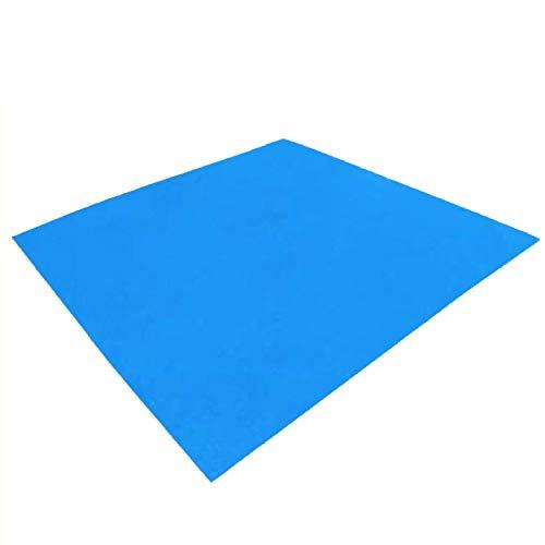 TRIWONDER Tapis de Sol Camping Tarp Ultra Léger Bâche de Tente Imperméable Parasol Auvent Abri Couverture Anti-Pluie pour Pique-Nique Voyage Randonnée (Bleu, S - 150 x 250 cm)