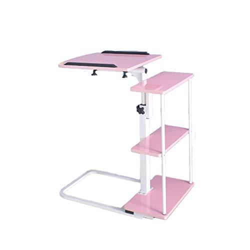 TISESIT INDOOR Taca stół składany góra uchwyt na laptopa do kawy nowoczesne meble z e-bookiem, mobilne kolana stacja robocza wózek notebookowy, D