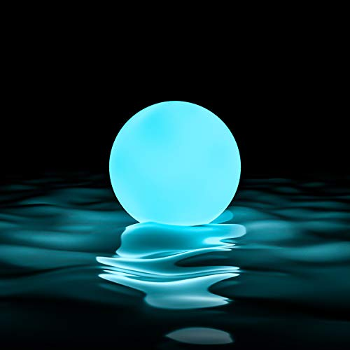 LOFTEK LED Dimmable Large Floating Pool Lights Ball, 16-inch...