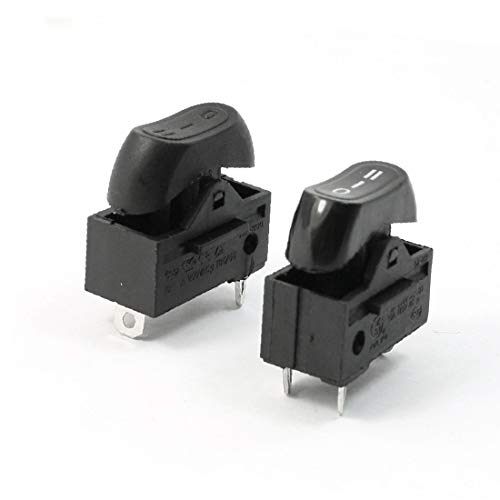 X-DREE AC 250V 10A SPDT 3 polos 3 posiciones Terminales Interruptor basculante Par para secador de pelo (adb2c9826a6b1d30a68673992582a94e)