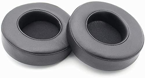 Adhiper Auriculares de Juego Thresher 7.1 Earpads de Repuesto/Almohadillas para Auriculares/Auriculares compatibles para Gaming Razer Thresher Ultimate Dolby 7.1 Surround Sound (Negro)