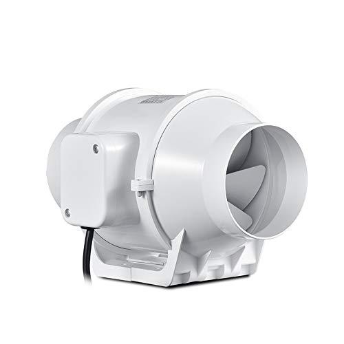 MHRCJ Inicio línea de conductos de ventilación del Ventilador Ventilador de Tubo de ventilación de Aire del Ventilador Extintor 110-240 V Ventilador Turbo Booster for los hogares Crece la Tienda