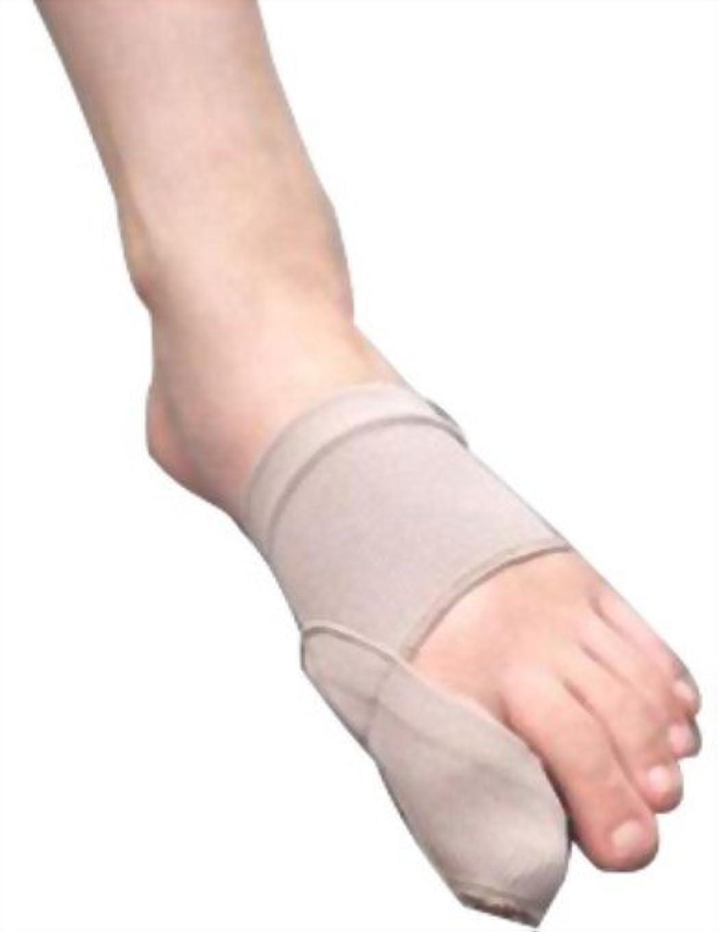 漂流毒性設計図富士パックス販売 「 外反母趾 足楽サポーター 」 左右兼用 1枚入り ハードタイプ