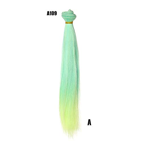 Little Story Fashion 25 cm Wholesale Straight Hair Hair DIY/BJD Wig Doll, Heat Resistant Synthetic Wig Womens Wigs Charming Natural Cosplay Party, The Most Suitable Gift