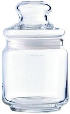Ocean 500 ml Pop Jar with Glass Lid - Set of 3