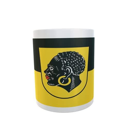 U24 Tasse Kaffeebecher Mug Cup Flagge Coburg
