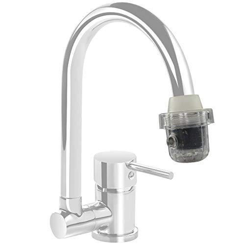 BEM Wasserfilter | für den Wasserhahn | Wasserfilter Wasserhahn | Wasserhahn Aufsatz |Wasserhahn Filter | Wasseraufbereiter Trinkwasser | Wasser Filter | Wasser Filtersystem | Kalkfilter Wasserhahn