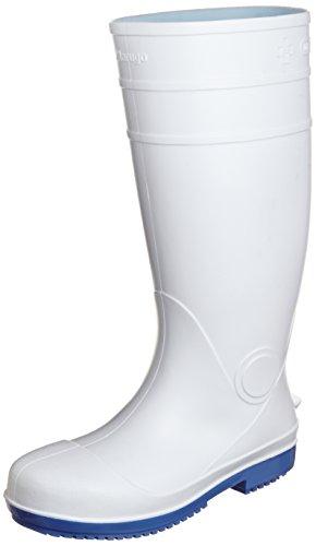 [マルゴ] 安全長靴 衛生 鋼製先芯 耐油 耐滑 安全プロハークス 910 ホワイト 24.5 cm