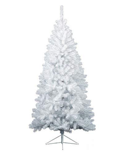 Horror-Shop Abete bianco con supporto 180 cm