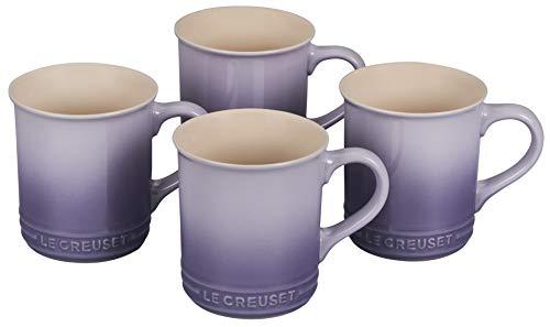 Le Creuset PG90433A-00BP Stoneware Mug, Set of 4, 14-Ounce, Provence