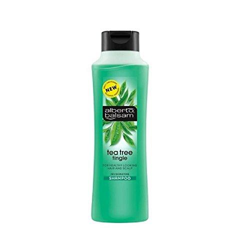 Alberto Balsam Herbal Shampoo - Tea Tree Tingle (350ml) - Pack of 2