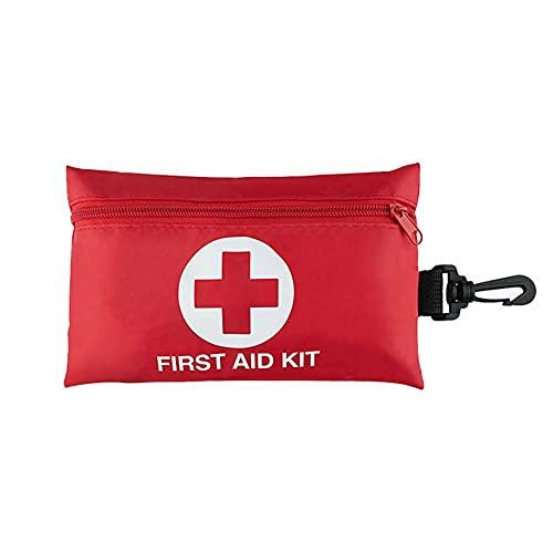 Kit di pronto soccorso N\C, mini kit di pronto soccorso, set di 99 pezzi combinati adatto per campeggio, escursionismo, zaino in spalla, viaggio veicoli all'aperto