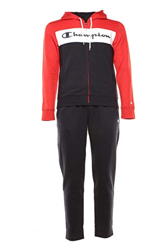 Champion Hooded Full Zip Suit P-E Art.214410, Rot XXXL