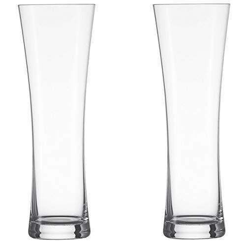 Schott Zwiesel 120013 BASIC Weizen Bierglas Set, Glas, transparent