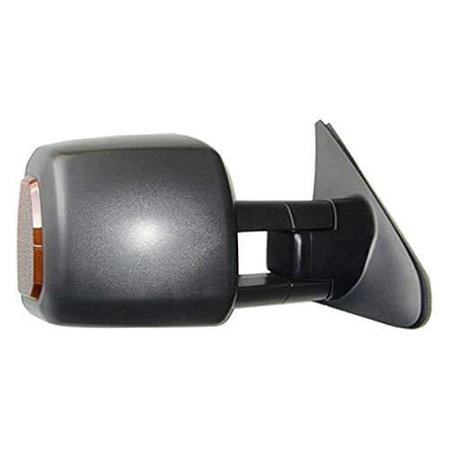 Pacific Best M35469 - Passenger Side Power Towing Mirror (Heated, Foldaway)