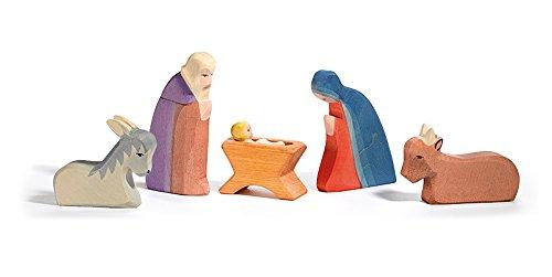 Ostheimer 4040 - Heilige Familie, 5-teilig, 6 Teile
