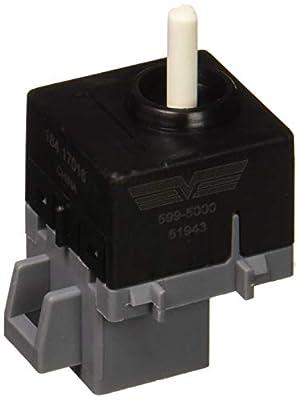 Dorman 599-5000 HVAC Blower Fan Switch for Select Peterbilt Models, Black (OE FIX)